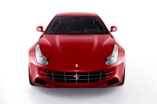 Ferrari FF Front View
