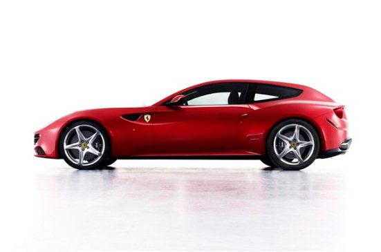 Ferrari FF Side View