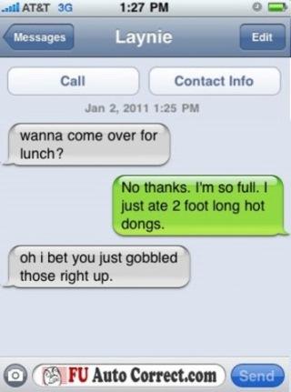 Funny Auto Correct Texts8