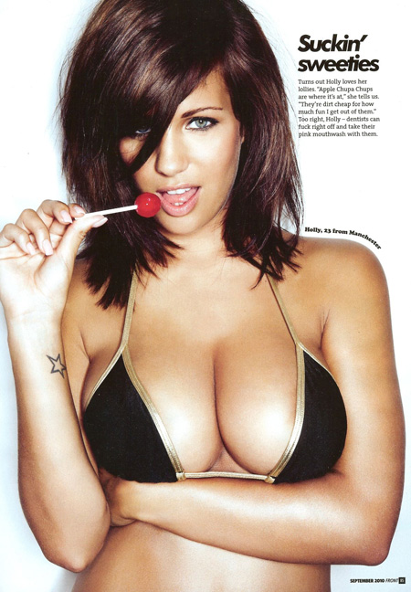 Holly Peers Bikini