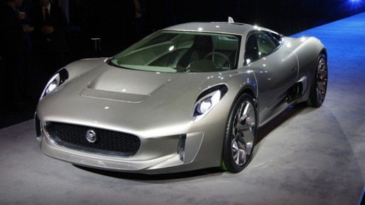 Jaguar CX75 Front