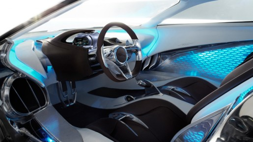 Jaguar CX75 Interior