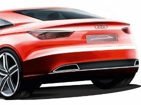 Audi A3 Saloon Concept