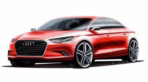 Audi A3 Sudan Concept