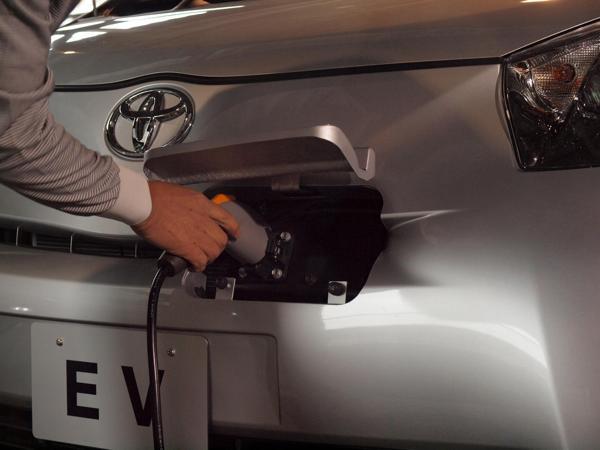 Charging the Electric Toyota iQ