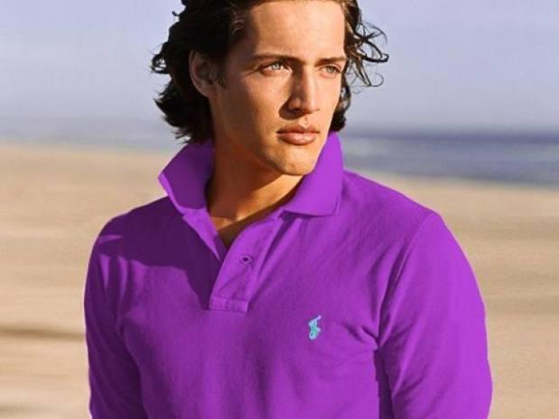 Ralph_Lauren_Men_Polo_shirt_Purple