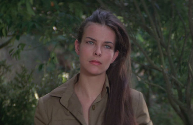Carole Bouquet Bond Girl, Melina Havelock in For Your Eyes Only