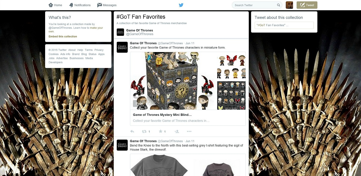 twitter-collection-game-of-thrones