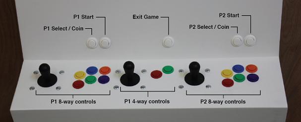 Polycade Retro Arcade Controls