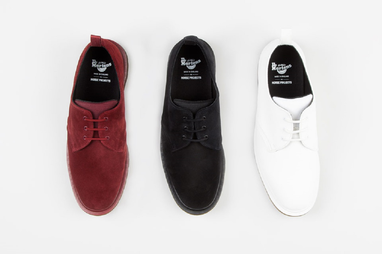 Norse Projects x Dr. Martens Shoe 1