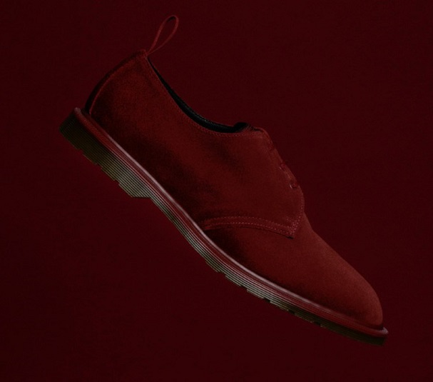 Norse Projects x Dr. Martens Shoe Red