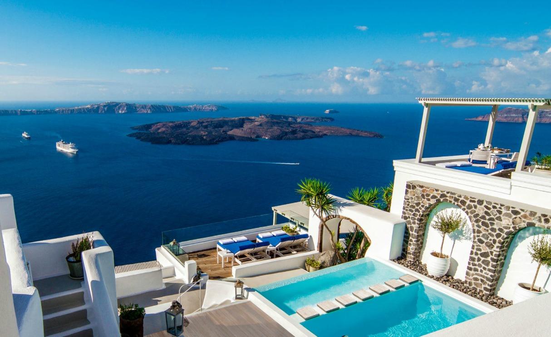 Clifftop Hotels Iconic Santorini