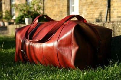 Elvis Kesse Weekender Bag Fire Hose