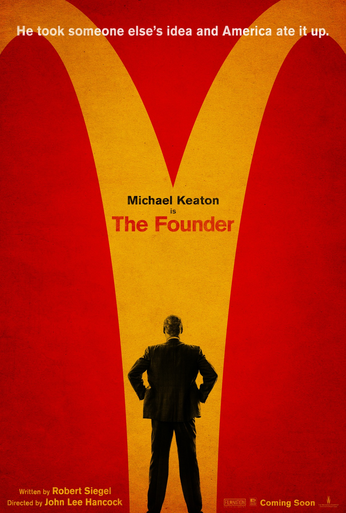 The Founder True Story McDonald's Film Poster
