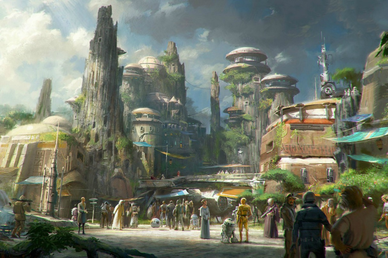Disney Star Wars Land 1