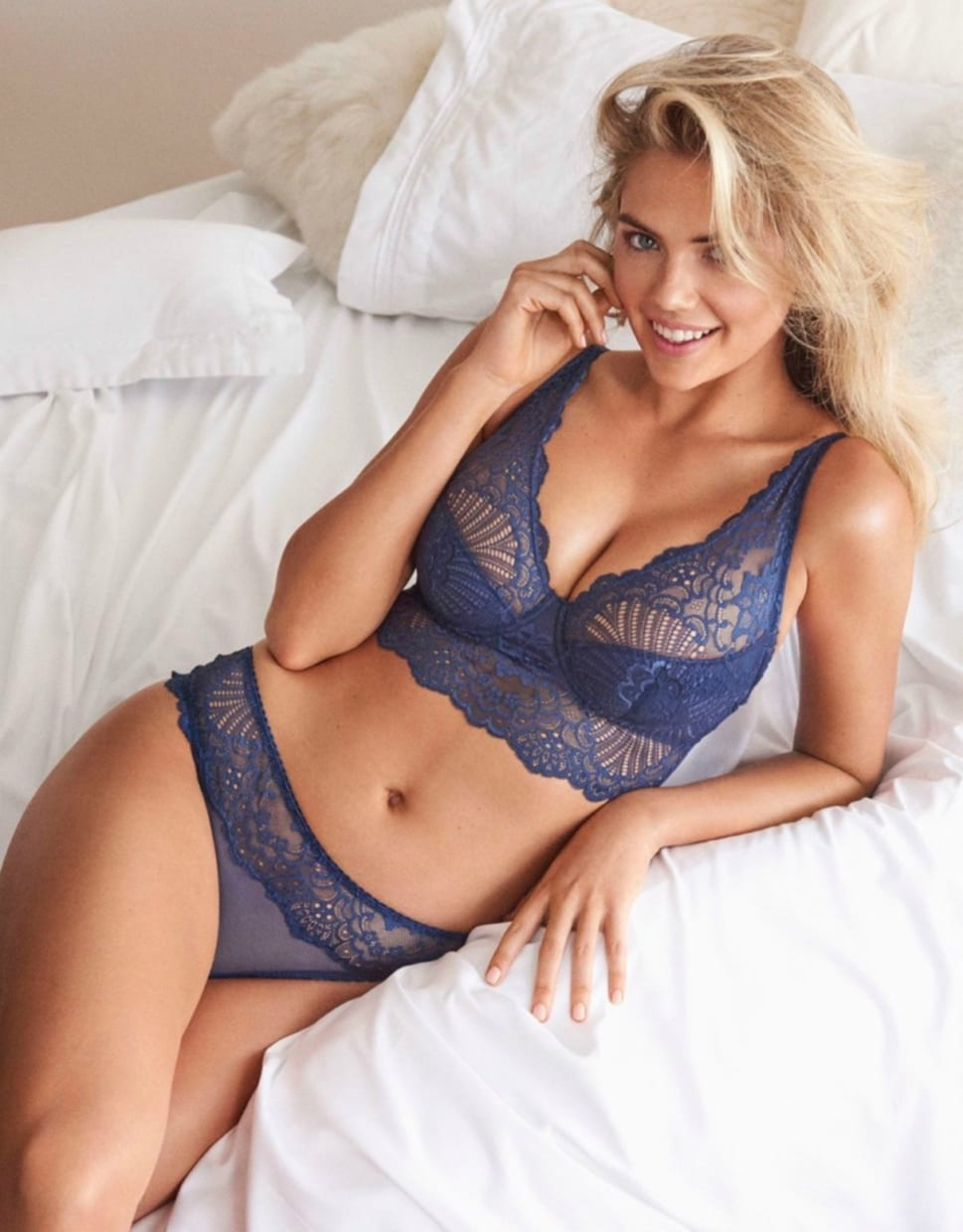 Kate Upton for Yamamay Lingerie SS18 NSFW - Average Joes