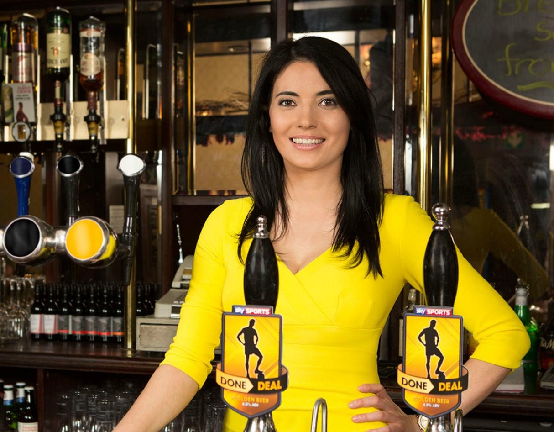 natalie-sawyer-leaves-sky-sports-news-yellow-dress