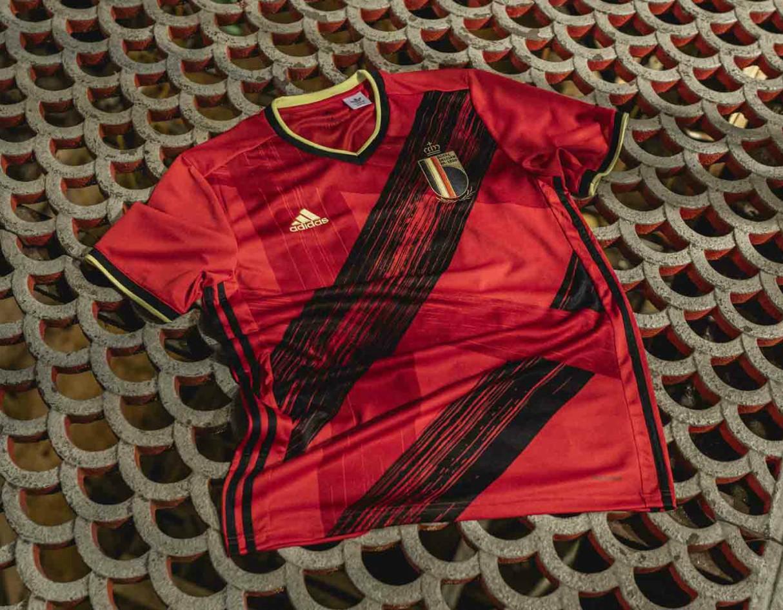 adidas Belgium EURO 2020 Home Shirt
