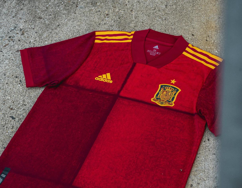 adidas Spain EURO 2020 Home Shirt