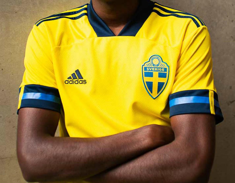 adidas Sweden EURO 2020 Home Shirt