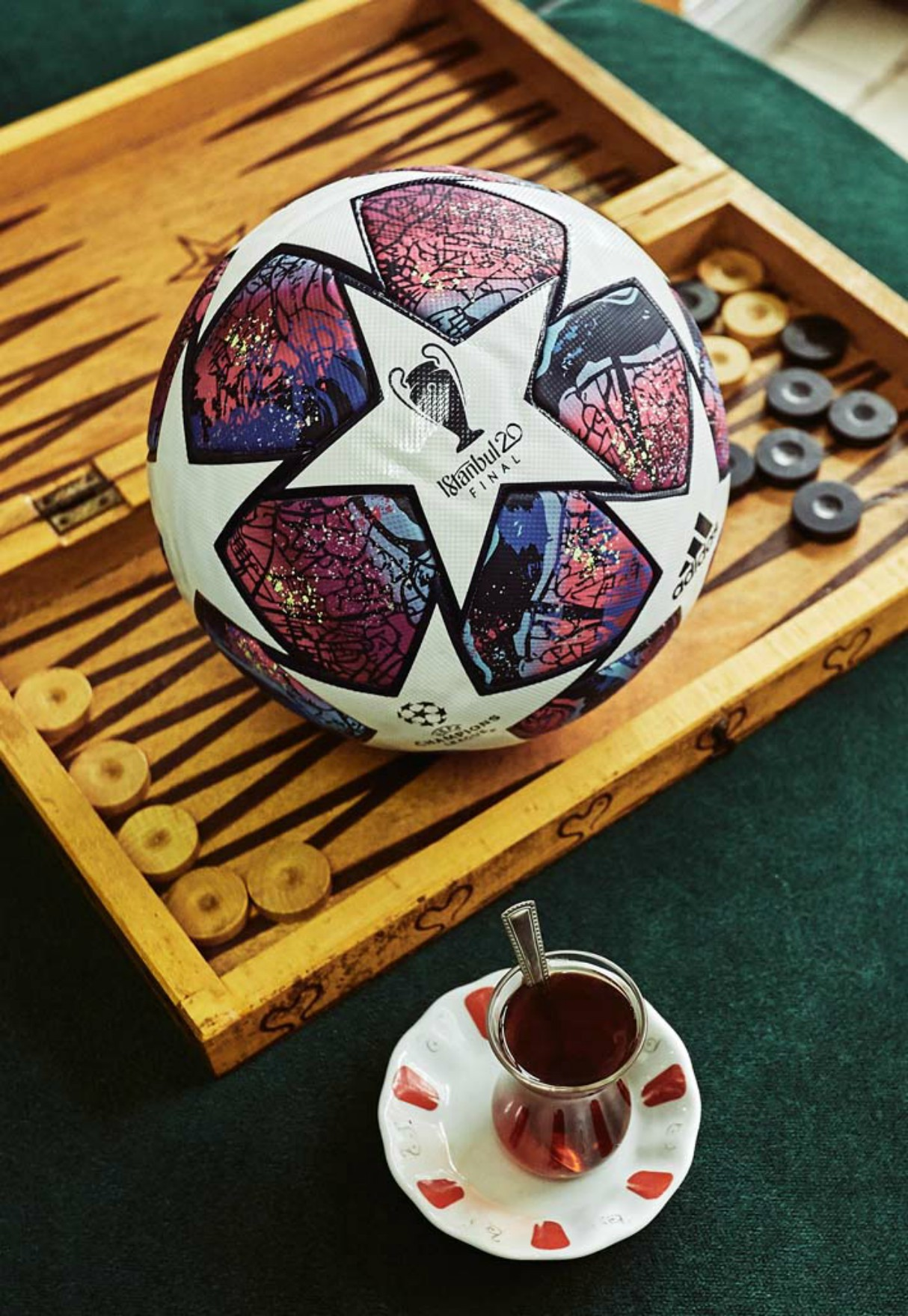 adidas Unveil 'Finale Istanbul' Champions League Final Ball 3