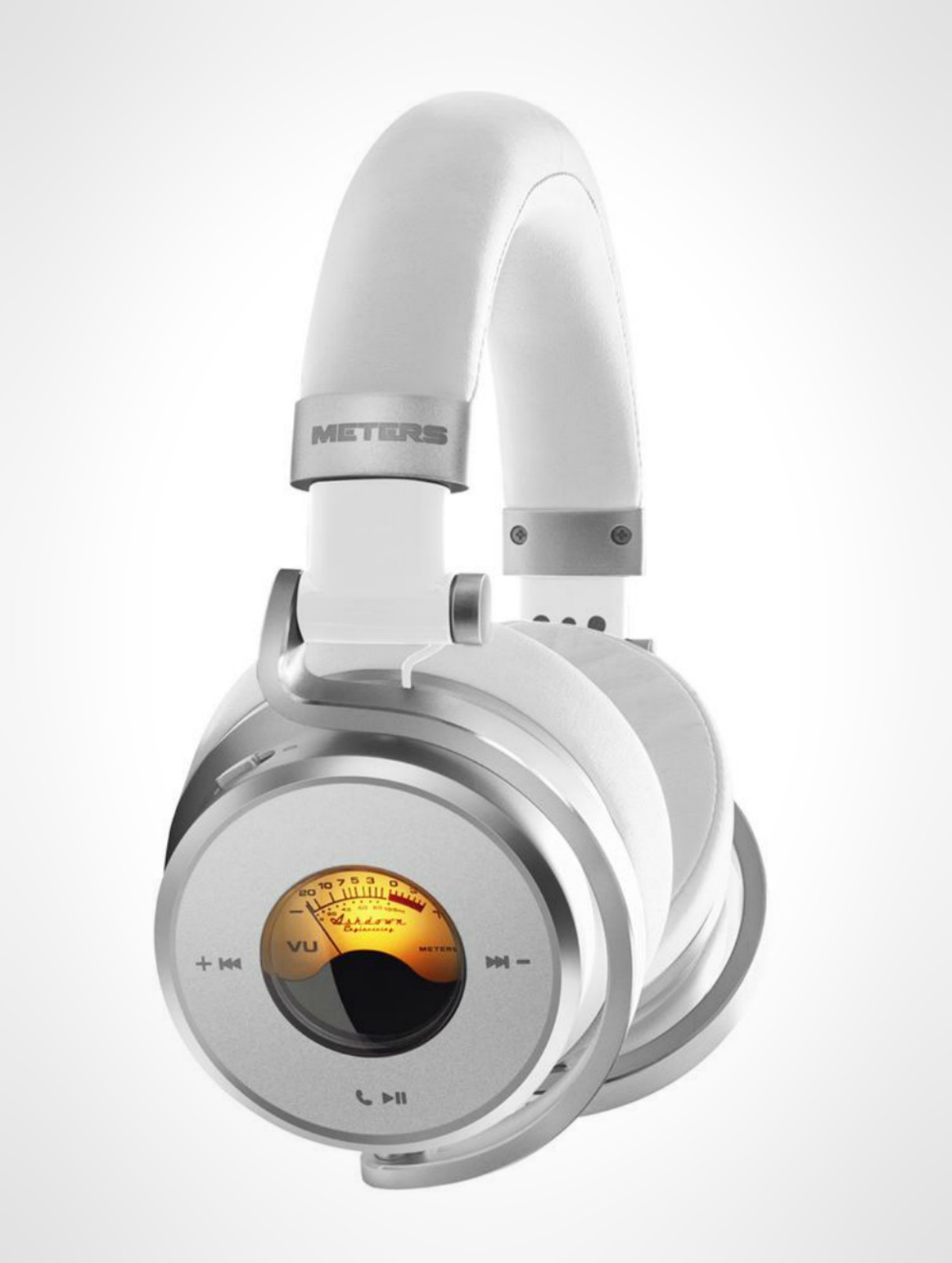 Meters Music Launches Wireless OV-1-B-CONNECT HD Headphones White