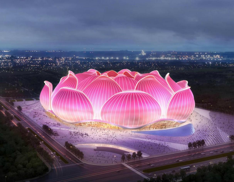 Guangzhou Evergrande Flower City Football Stadium 1