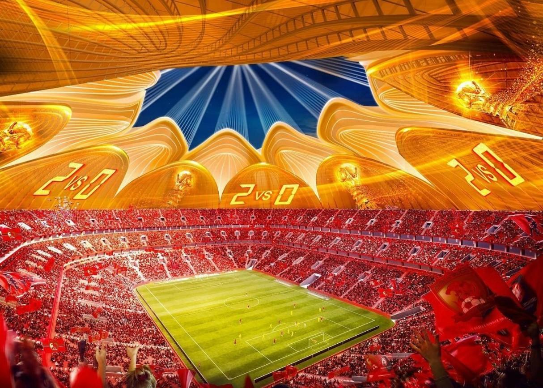 Guangzhou Evergrande Flower City Football Stadium 2