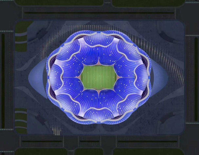 Guangzhou Evergrande Flower City Football Stadium 4