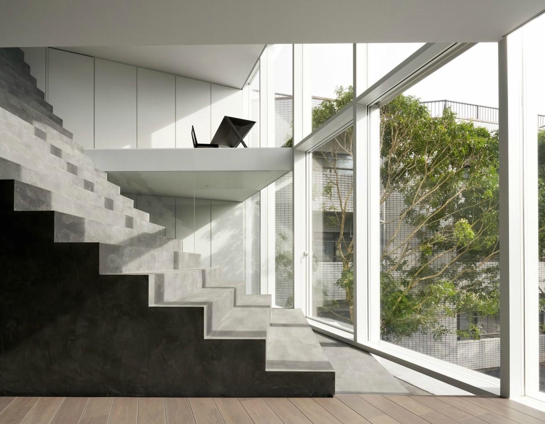 nendo Stairway House Tokyo Japan 4