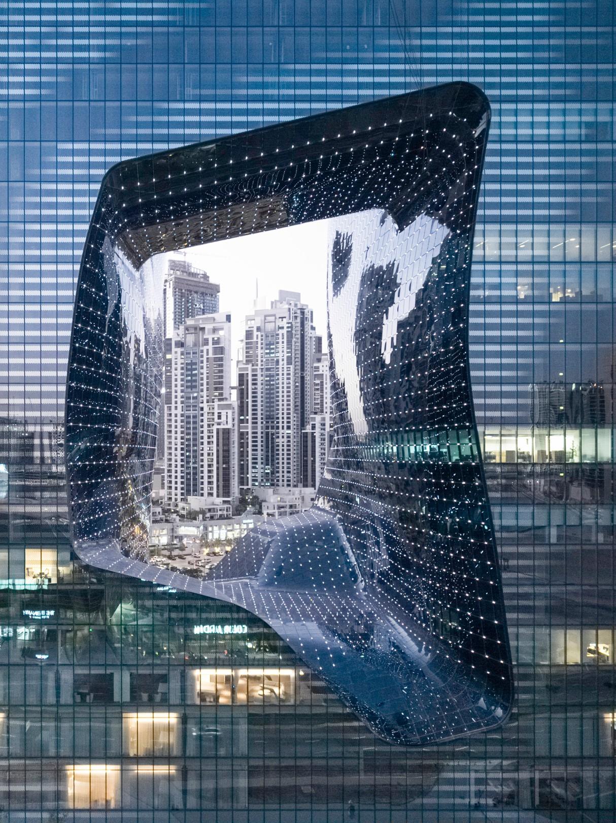 Zaha Hadid Architects' ME Dubai Hotel Exterior
